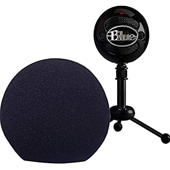 professional microphone cover foam microphone windscreen wind cover for blue. Black Bedroom Furniture Sets. Home Design Ideas