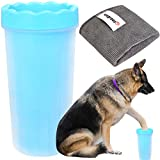wegreeco Portable Dog Paw Cleaner, Dog Paw Washer with Towel,Paw...