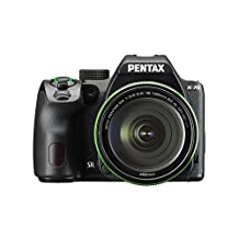 Pentax K-70 Weather-Sealed DSLR Camera with 18-135mm Lens (Black)