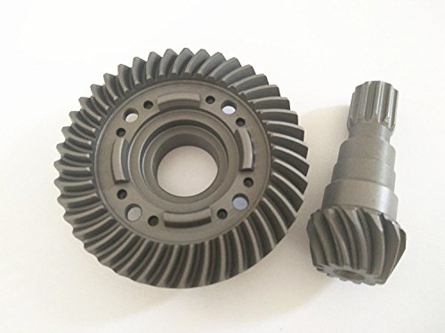 CrazyRacer 1 5 6S Car 77076-4 Truck Upgrade Parts Hard Chrome Steel Front Spiral Cut Differential Pinion Gear Replace  7777X