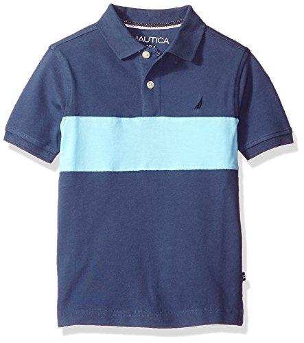 Nautica Short Sleeve Colorblock Shirt