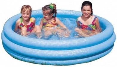 INTEX Niño Jardín Piscina Pool 3Anillos Azul 147x 33cm