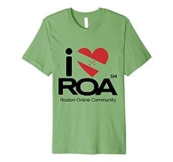 Men's I Love Roa T-Shirt 3XL Grass