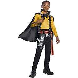 Rubie's Unisex-Children Solo: a Star Wars Story Lando Calrissian Deluxe Child's Costume