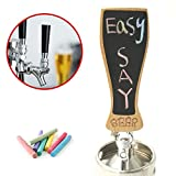 Red Oak Tools Carved Beer Tap Handle with