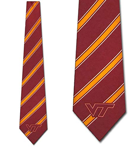 Virginia Tech Tie - Virginia Tech Hokies Necktie - Polyester Tie