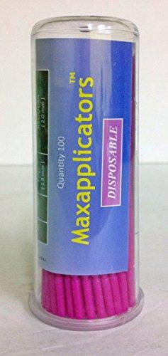 Plasdent Maxapplicators 600-F-P Fine Micro & Bendable Dis...