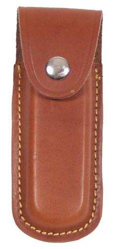 Messer-Etui, Leder, braun, Heftlänge bis 13 cm
