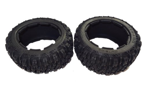 Rovan RC Buggy Rear Off Road Excavator Tires (set of 2) (Excavator Rear)
