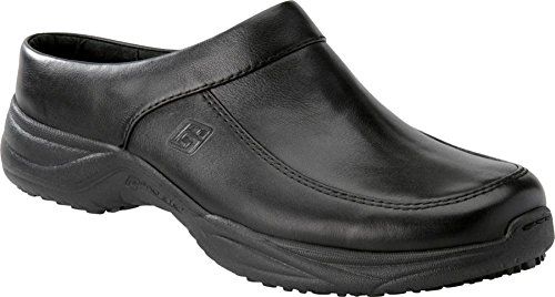 Pro-Step Men's BRANDON Open Back Clogs BLACK 8 M by Pro-Step