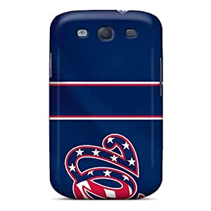 Excellent Hard Phone Covers For Samsung Galaxy S3 With Provide Private Custom High Resolution Washington Nationals Series JasonPelletier