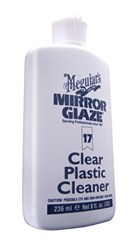 Meguiar's M17 Mirror Glaze Clear Plastic Cleaner - - Clear Plastic Cleaner