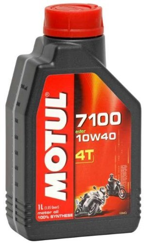 Motul 7100 Synthetic Oil 4T - 10W40 - 4 Liter/--