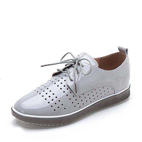 Zapatos Tacón De Mujeres Zapatos B Transpirables Cinturón Ocio De Plano De Las Zapatos Tamaño Con Grande rxvBrwgq