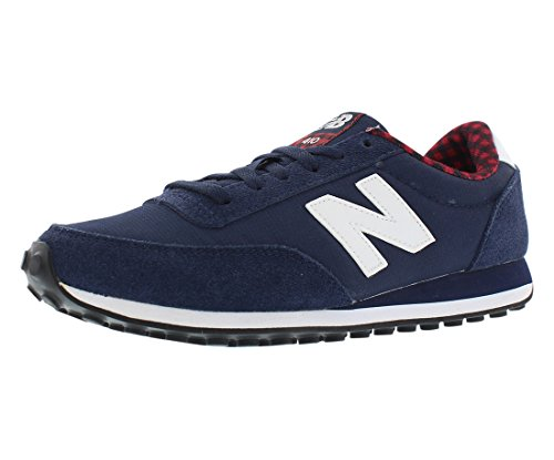 New Balance Women's WL410 Buffalo Plaid Pack-W, Navy, 7.5 B US (New Balance Plaid)