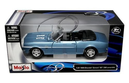 Maisto 1:24 W/B Special Edition 1968 Chevrolet Camaro SS 396 Convertible