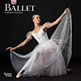 Ballet 2021 7 x 7 Inch Monthly Mini Wall Calendar with Foil Stamped Cover, Performance Dance