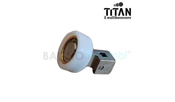 Titan Rueda A articulación para mampara de Ducha q54: Amazon.es: Hogar
