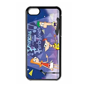 iPhone 5C Cases Cell Phone Case Cover Phineas and Ferb 5R51R3515167
