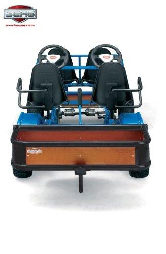 Berg Toys Gokart Gepäckbox, Gepäckkasten für Gokarts