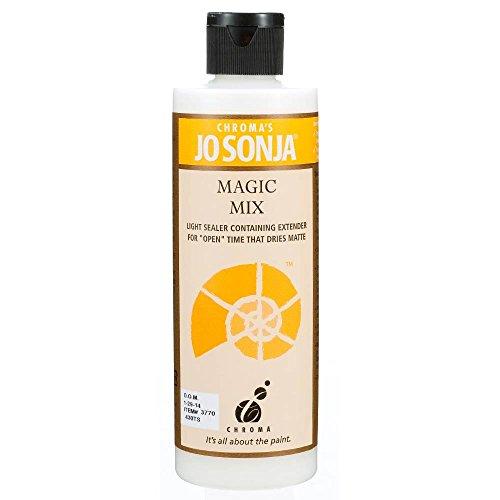 Jo Sonja's Magic Mix Medium, 8 Ounce Bottle