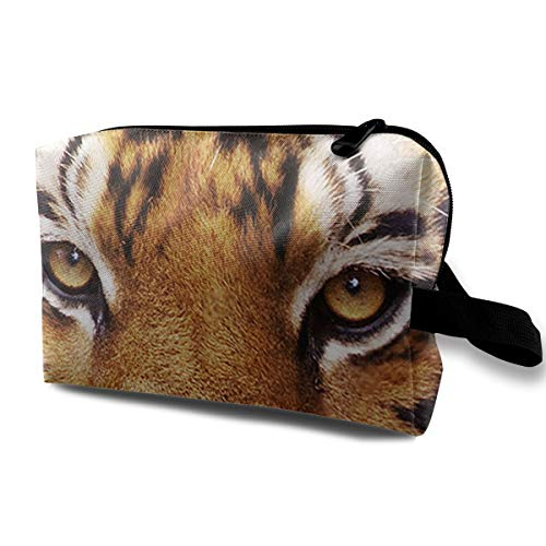 Animal Tiger Face Portable Multifunction Travel Pouches Woman Cosmetic Storage Bags Coin Purse Makeup Bag Pencil Holder -