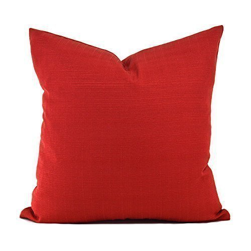 Cover Chili Peppers - Outdoor Decorative Throw Pillow Cover Any Size OD Sunsetter Chili Pepper