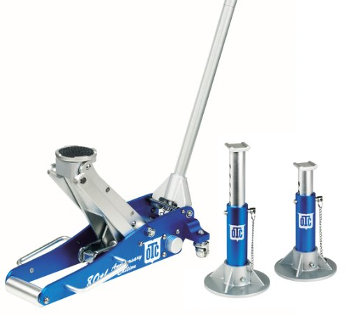 - OTC 1533 Aluminum Racing Jack Kit with 2-Ton  Jack and Stands, 80th Anniversary Edition