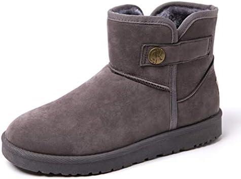 短靴 歩きやすい 作業ブーツ ウォータープルーフ スノーブーツ メンズ 厚底 防寒 冬 アウトドアシューズ 軽量 保温 ムートンブーツ 暖かい 防滑 ウィンターブーツ ショットブーツ フラット 滑り止め 裏ボア