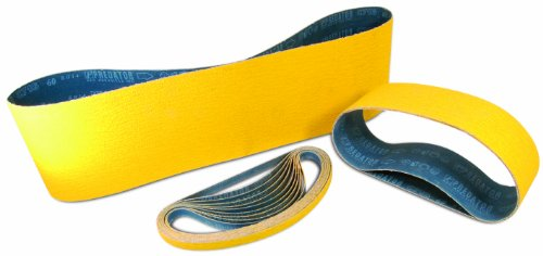 Arc Abrasives 71-030024006 Predator Portable Belts, 80-Grit, 3-Inch by 24-Inch,10-Pack Review