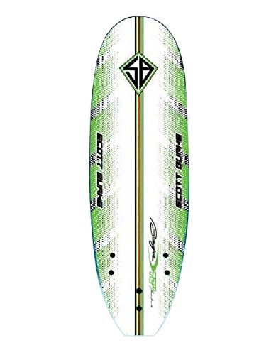 Scott Burke 6' Soft Surfboard Package, White/Green by Scott