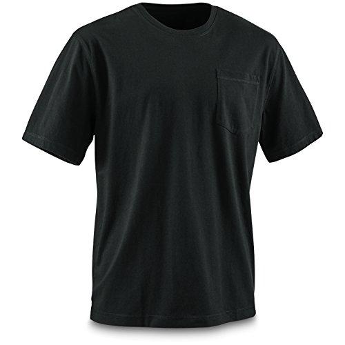 Guide Gear Men's Stain Kicker Short Sleeve Pocket T Shirt with Teflon - Kicker Gear