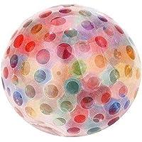Rainbow Anti Stress Ball Toy Squeezable Bead Stress Ball Antistress Squishy Toy Stress Relief Ball For Fun Joke Prank