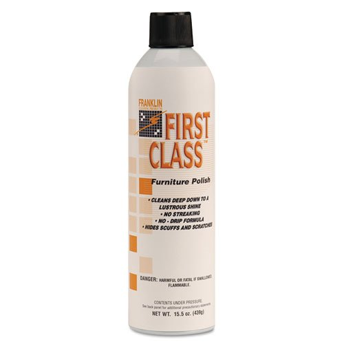 Franklin Cleaning Technology F801015 First Class Furniture Polish, 18 Ounce (Pack of 12) by Fuller Commercial Products