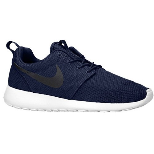 NIKE Men's Roshe Run Midnight Navy/Black/White hot sale cheap online URWqeek9lt