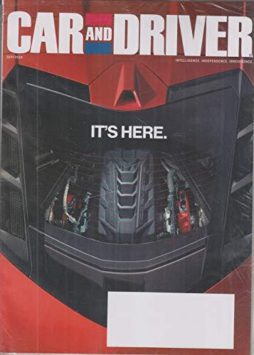Car and Driver September 2019 2020 Chevrolet Corvette Stingray