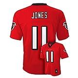 Julio Jones Atlanta Falcons #11 Red NFL Youth Home Mid Tier Jersey