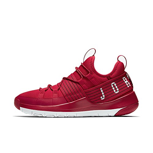 Jordan Men's Trainer Pro Training Shoe, Gym Red/Pure Platinum-Pure Platinum, 13 by Jordan
