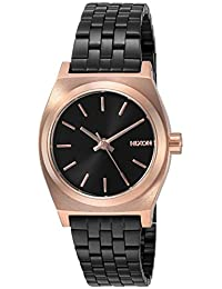 Nixon Women's The Small Time Teller X Nightshade Collection Black/Rose/Black
