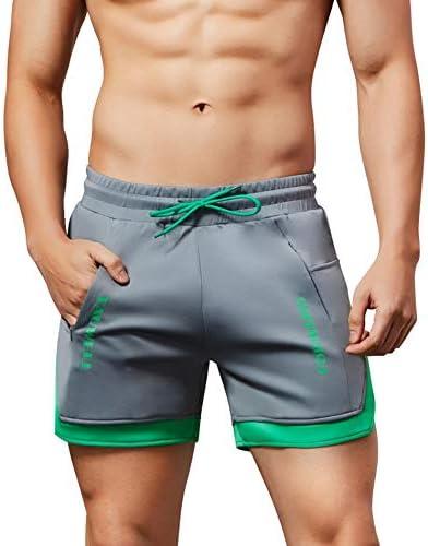 (ヒラロキ) Hilarocky ショートパンツ メンズ トレーニング ジム ウェア 短パン フィットネスパンツ スポーツ アウトドア