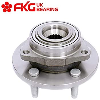 2010 fits Dodge Dakota Front Wheel Bearing and Hub Assembly Note: 4WD, RWD 4-Wheel ABS One Bearing Included with Two Years Warranty