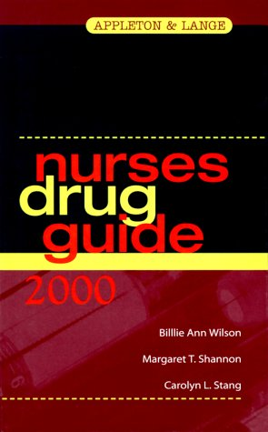 Nurses Drug Guide 2000 (Book with Diskette)