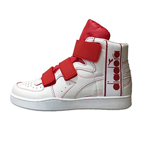 Diadora Bianco Basket Scarpe Mi Tape Uomo rosso FFUC0q1w