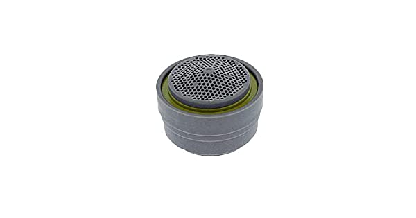 Built-in Agion Antimicrobial Protection 0.5 GPM Small Spray Stream Neoperl 14 0650 5 Ultra Low Flow PCA Spray Careguard Aerator Insert with Washer