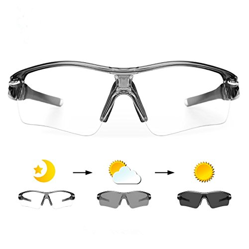 WHEEL UP Photochromic Sunglasses Cycling Sports Mountain Road Bicycle - Photochromic Sunglasses Motorcycle