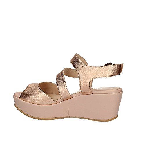 GRACE SHOES SA19 Sandalo zeppa Donna Bianco 41