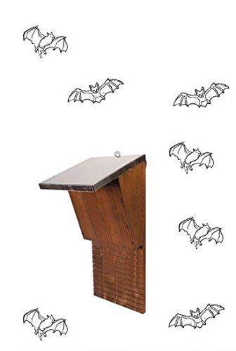 Casa para murciélagos de madera. Rifugio ideal para I murciélagos, numerosas para la caza mosquitos al.: Amazon.es: Bricolaje y herramientas