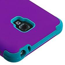 MyBat LG D500 (Optimus F6) Rubberized TUFF Hybrid Phone Protector Cover – Retail Packaging – Gray/Black