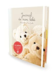 Journal de mon bébé : Avec un sac d'argile pour l'empreinte du pied ou de la main de votre bébé