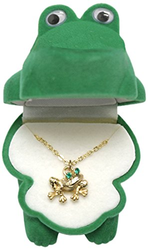 Circle of Friends Pendant, (Frog Necklace)